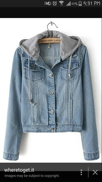 coat sweater jacket denim