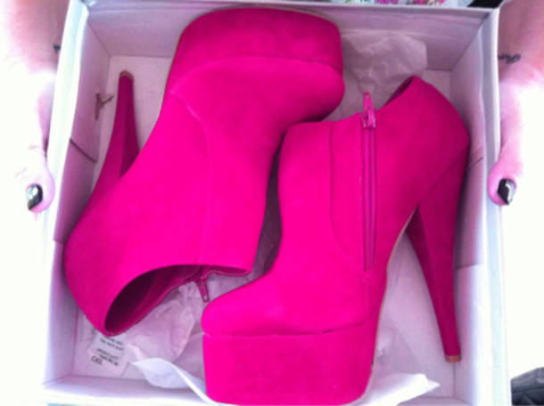 Pink Booties Shoes - Shop for Pink Booties Shoes on Wheretoget