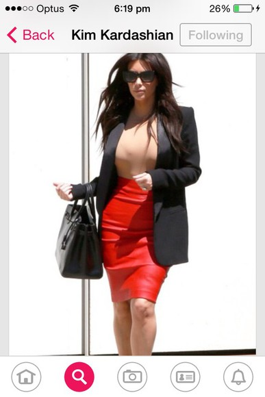 kim kardashian jacket long skirt kim kardashians keeping up with the kardashians