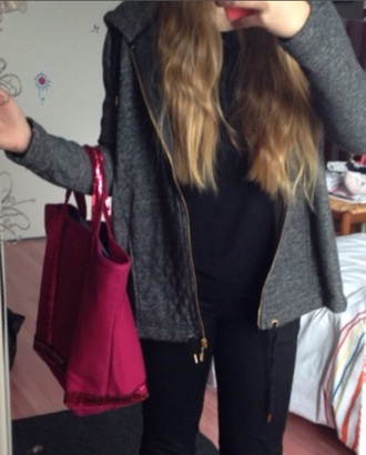 bag chic girl vanessa bruno pink bag swag girl