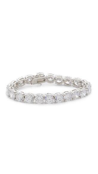 clear silver jewels