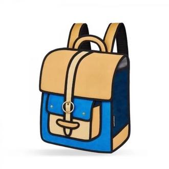 bag blue yellow