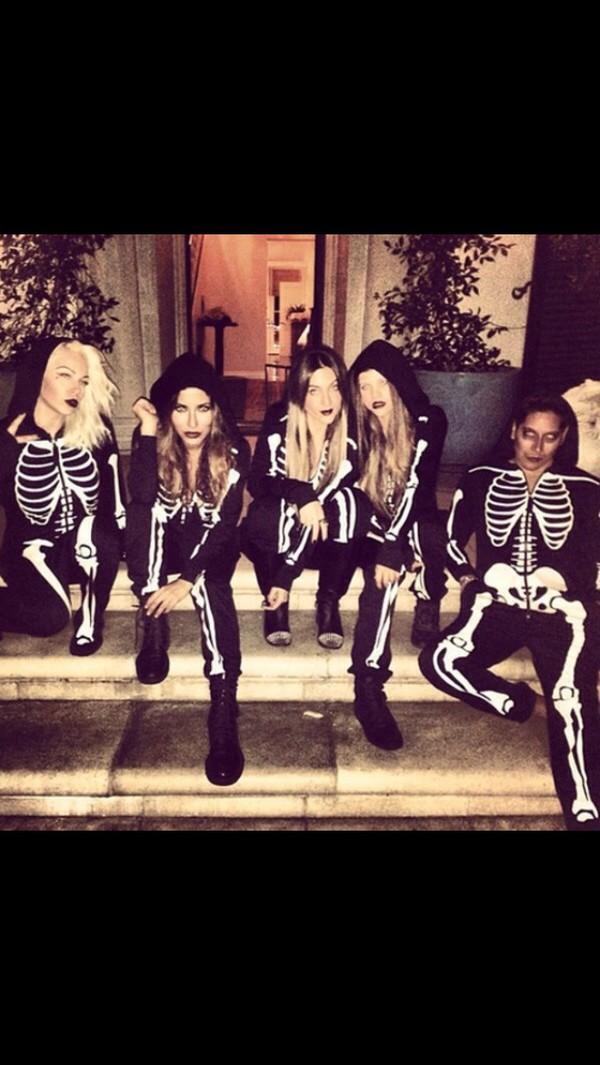 jumpsuit skeleton halloween costume halloween