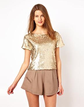 Naven | Naven Sequin T-Shirt at ASOS