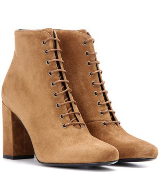 suede ankle boots boots ankle boots suede brown shoes
