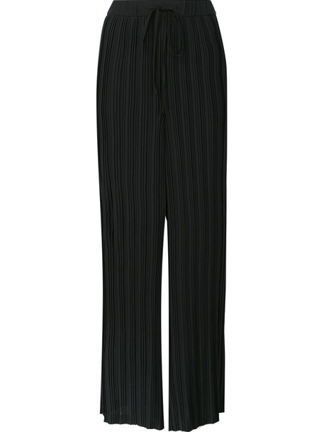 theory women black pants