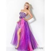 dress,strapless,dresses evening,ombre bleach dye