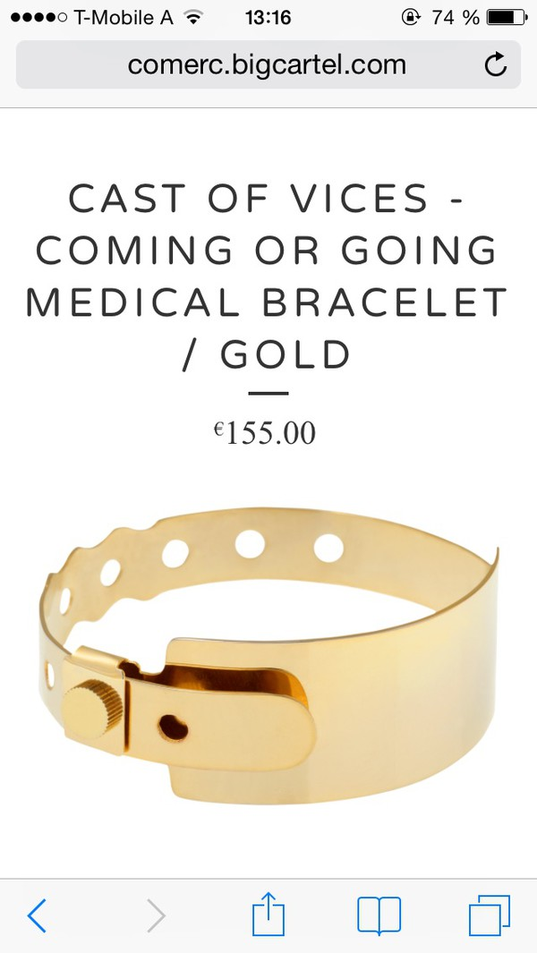 jewels medial bracelet hospital bracelet concert bracelet