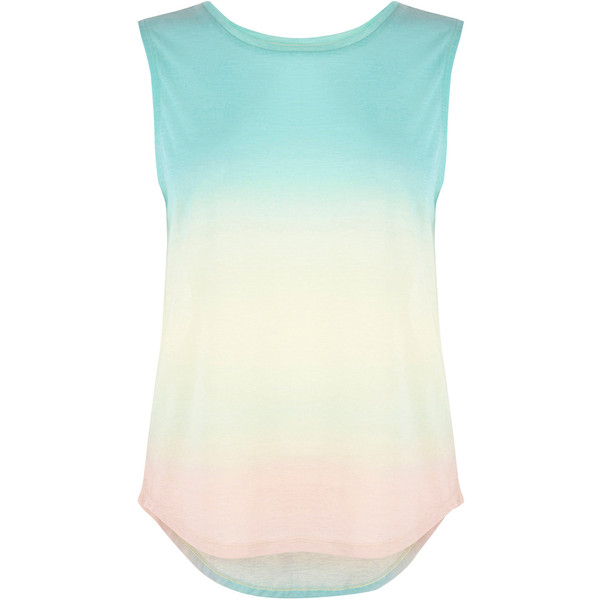 Warehouse Ombre Tank - Polyvore
