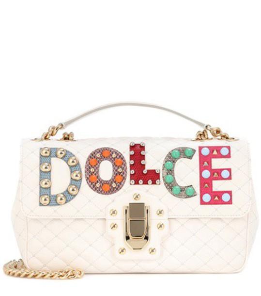 Dolce & Gabbana bag shoulder bag leather white