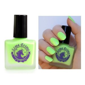 Amazon.com: lime crime highly pigmented and crème formulated nail polish