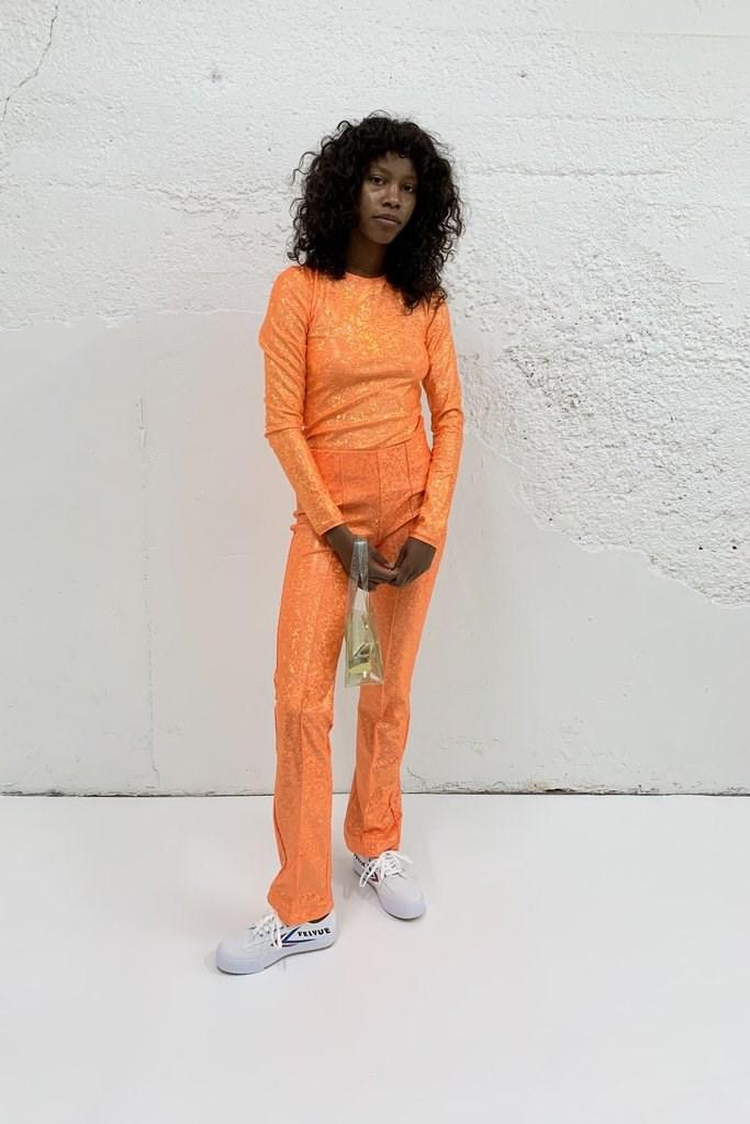Lissi Shimmer Pant - Orange Shimmer