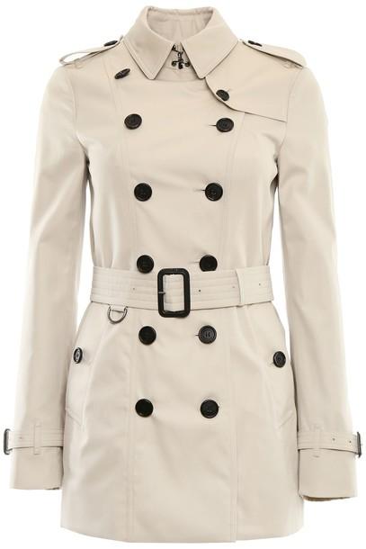 Burberry coat trench coat short