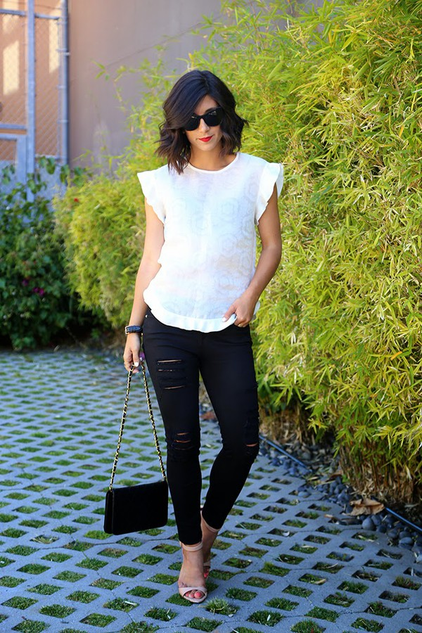 this time tomorrow top jeans shoes bag jewels sunglasses
