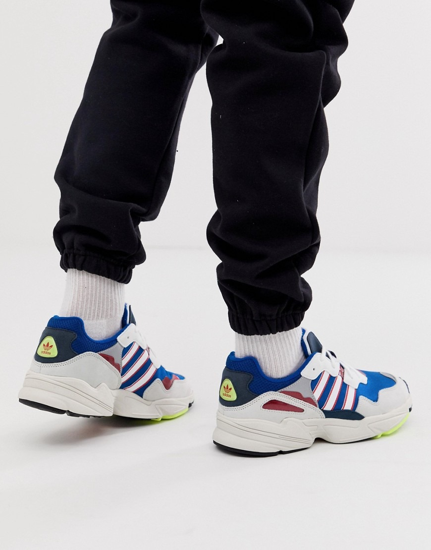 adidas Originals yung 96 trainers in blue