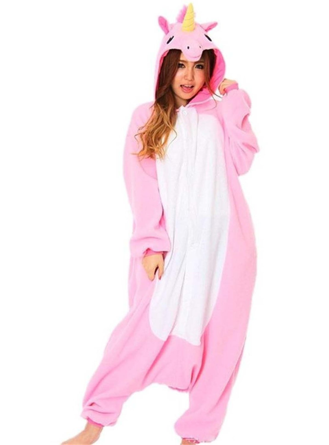 Amazon.com: UBeauty Unisex-adult Kigurumi Onesie Unicorn ...