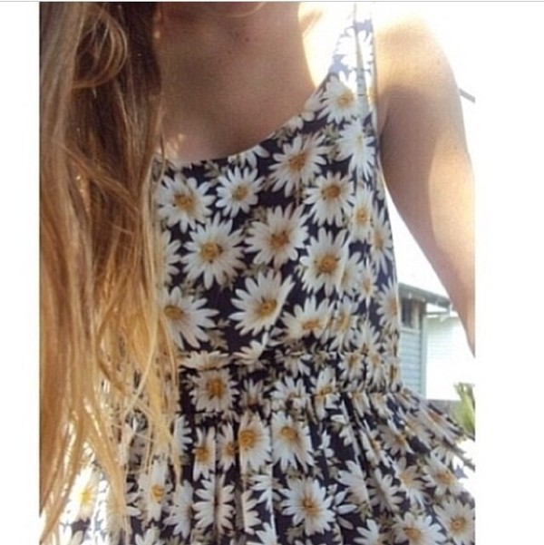 dress daisy daisy daisy dress cute dress pretty summer dress