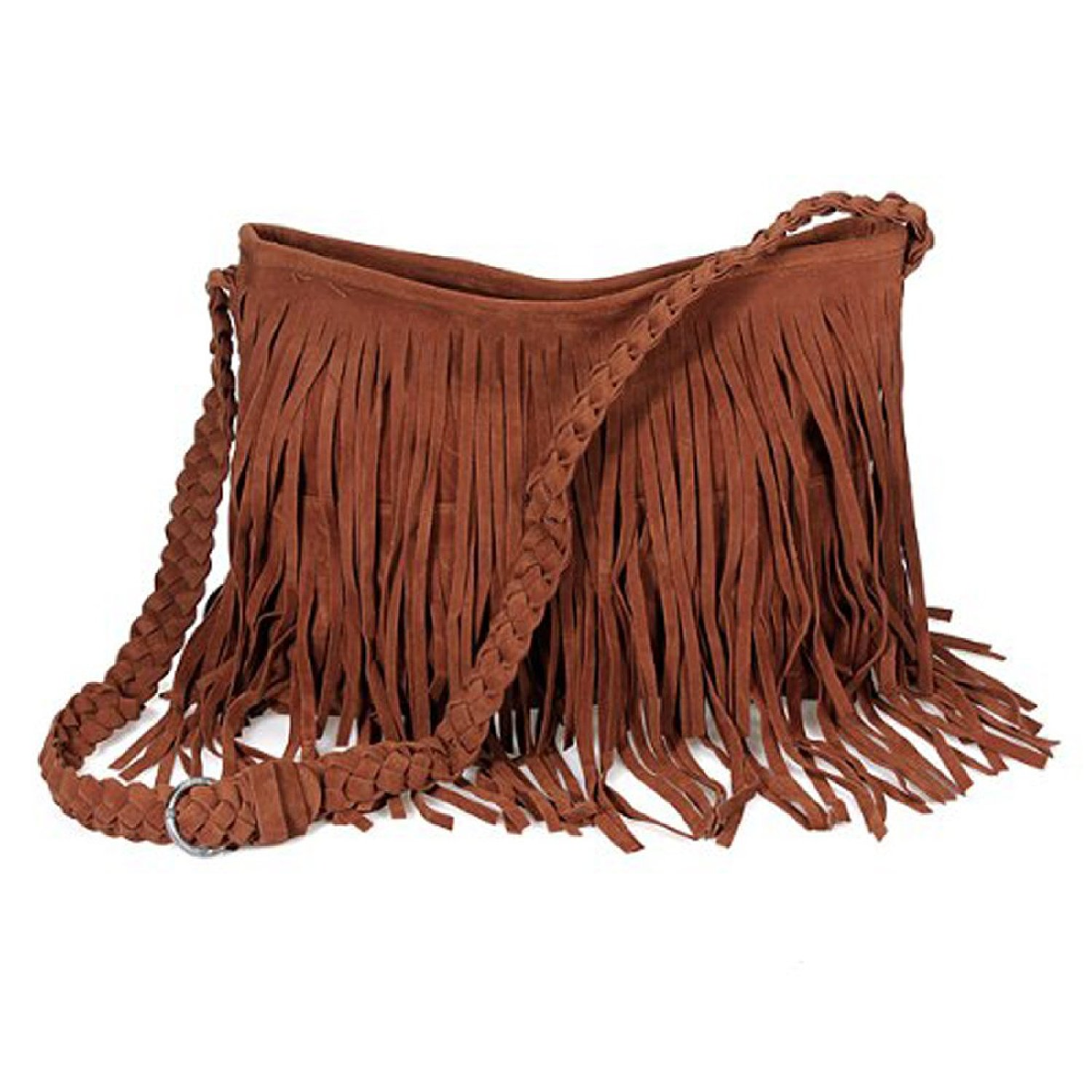 Suede Hobo Shoulder Bag – Shoulder Travel Bag