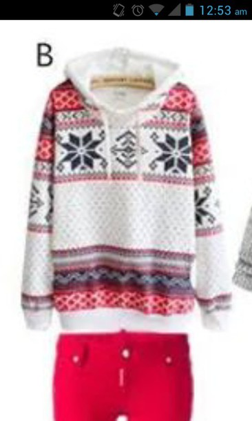 sweater hoodie jacket winter sweater christmas sweater