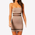 HOT Fashion Sexy Womens Fitted Strapless Bandeau Tube Tunic Bodycon Dress Party | eBay