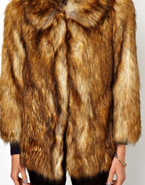ASOS | ASOS Vintage Faux Fur Coat at ASOS