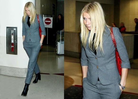 gwyneth paltrow jacket pants bag