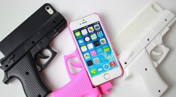 phone cover phone cover iphone iphone 5 case iphone 6 case pistol gun pink white clue cute vintage tumblr internet grunge boho hipster outfit assessories