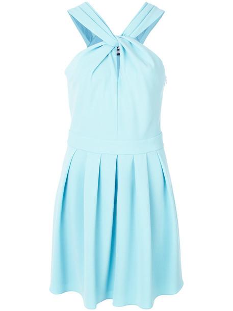 BOUTIQUE MOSCHINO dress skater dress cross women skater blue