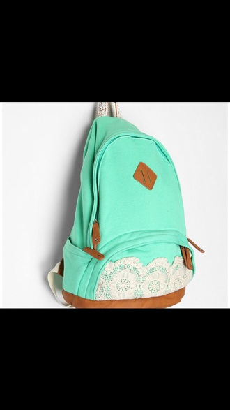 bag mint backpack