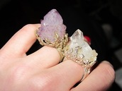 jewels,rough stone,ring,raw stone,crystal