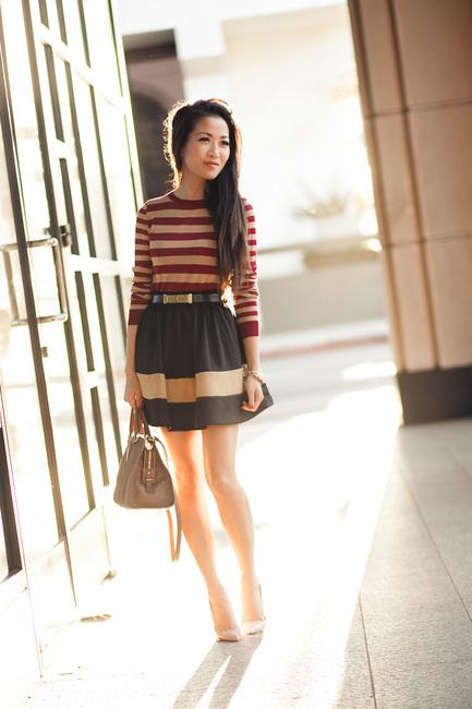 Soft Stripes  Silk merlot u0026 Sand lines  Wendyu0026#39;s Lookbook