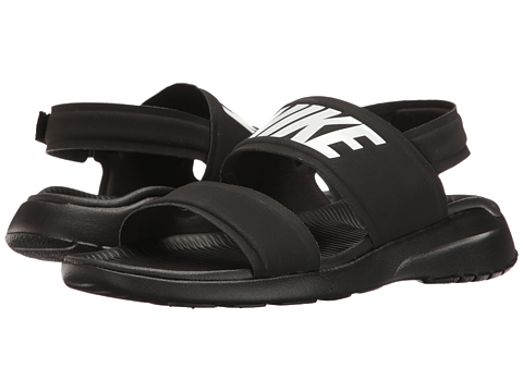 Nike Tanjun Sandal Black/Black/White - Zappos.com Free Shipping BOTH Ways