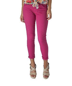 Coloured skinny jean