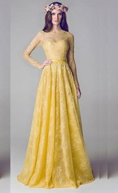 dress,evening dress,party dress,lace dress,yellow dress,long dress,maxi dress,wholesale fashion dresses,www.angellfashion.com