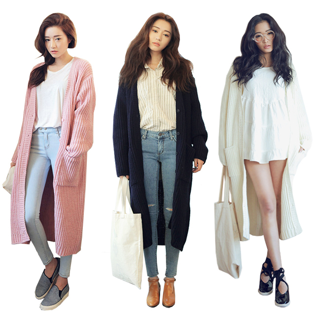 Long knit cardigan · summah breeeze · online store powered by storenvy