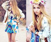 jacket,denim,leopard print,stud,young,girl,women,fashion,rivet jacket,cute,floral,Choies