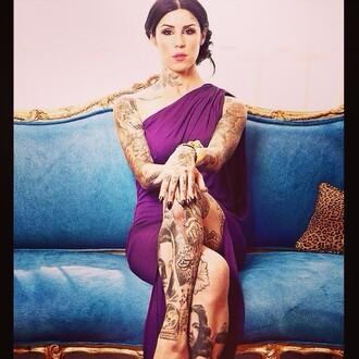 purple dress lilac dress long dress purple indian dress sari kat von d