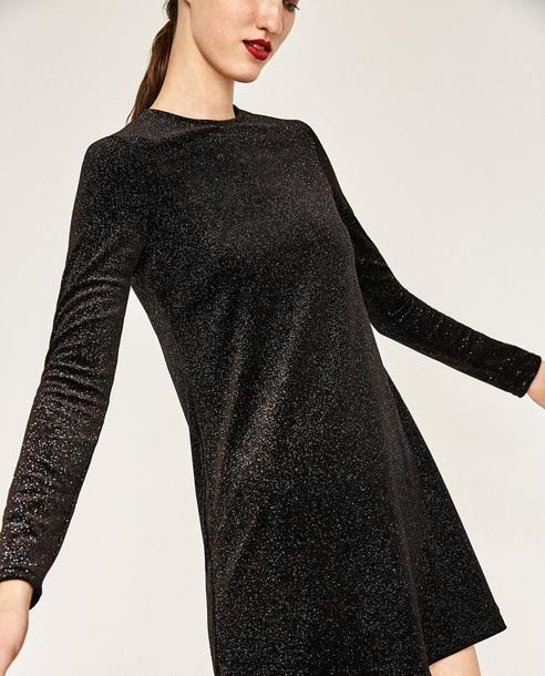 dress brilliant sparkle velour velvet velvet