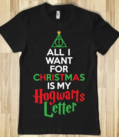 Christmas Hogwarts Letter - Christmas Swag - Skreened T-shirts, Organic Shirts, Hoodies, Kids Tees, Baby One-Pieces and Tote Bags Custom T-Shirts, Organic Shirts, Hoodies, Novelty Gifts, Kids Apparel, Baby One-Pieces | Skreened - Ethical Custom Apparel