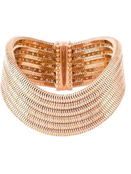 Lara Bohinc rose gold rose women gold grey metallic jewels