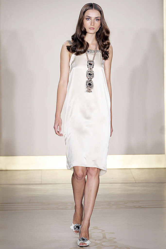Reem Acra Spring 2010 Ready-to-Wear - Collection - Gallery - Look 1 - Style.com