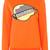Versace - logo embroidered sweatshirt - women - Polyester/Spandex/Elastane - 40, Yellow/Orange, Polyester/Spandex/Elastane
