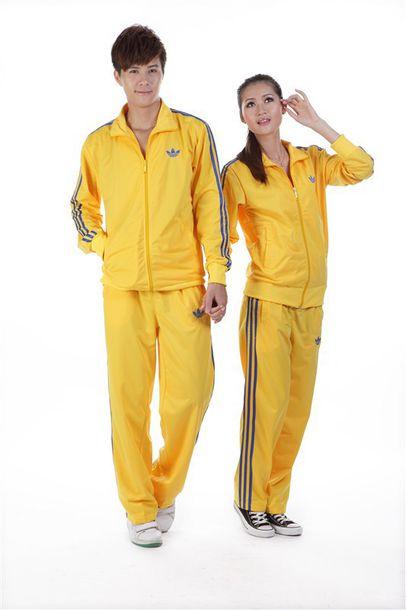 b5becac0d17a jacket adidas yellow yellow tracksuit adidas tracksuit bottom