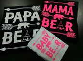 t-shirt,tees2peace,wall paper,bear,teddy bear,bear onsie,proud family,matching set,matching couples,matching shirts,couple sweaters,bestselling,trendy,family outfits,graphic tee,cute,instagram famous,shirt,band t-shirt,baby pink,baby,baby blue,mommy and me,daddy's lil monster