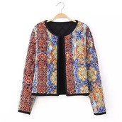 jacket,print,brenda-shop,36683,ornament,colorful,multicolor,pattern,crop