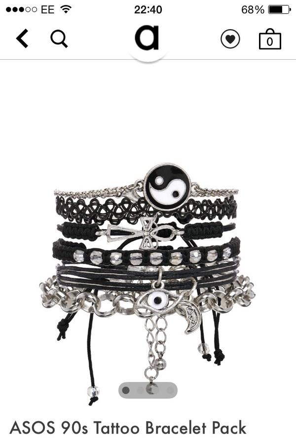 jewels tatoo 90s bracelet