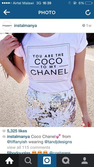 shirt coco chanel t-shirt coco chanel tshirt graphic tshirt