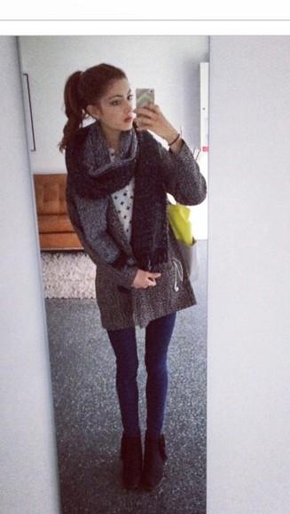 grey fashion tumblr outfit instagramfashion outfit weheartit