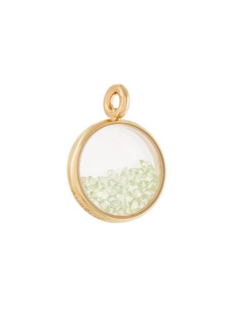 AURELIE BIDERMANN women pendant gold yellow grey metallic jewels