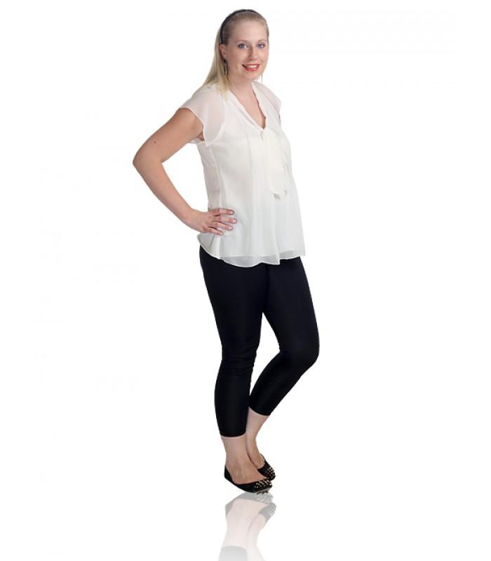UPTOWNGALERIA Black Figure-Friendly Leggings - Shop for leggings online